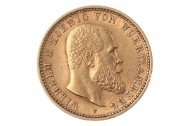 10 MARK 1905 F - WILHELM II (WURTTEMBERG)