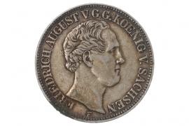 1 TALER 1850 - FRIEDRICH AUGUST (SACHSEN)