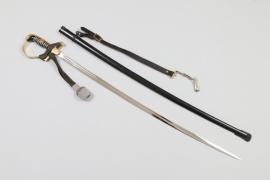 Bahnschutz leader's sword - Eickhorn