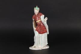Porzellanfigur Chinesischer Priester, Nymphenburg
