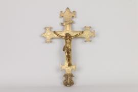 Barocker vergoldeter Bronzekorpus, süddeutsch 17. Jh.