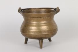 Bronzekessel (Grapen), deutsch oder flämisch, 16./17.Jh.