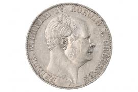 1 TALER 1860 A - FRIEDRICH WILHELM IV (PREUSSEN)