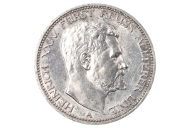 3 MARK 1909 - Heinrich XXIV (REUSS)