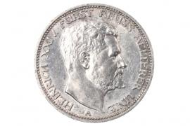 3 MARK 1909 - Heinrich XXIV (REUSS)
