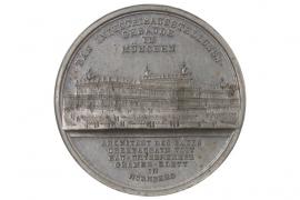 MEDAL 1854 - INDUSTRIEAUSSTELLUNG MÜNCHEN
