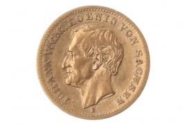 10 MARK 1872 E - JOHANN (SACHSEN)
