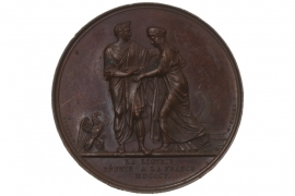 MEDAL 1805 - NAPOLEON BONAPARTE - ANNEXATION OF LIGURIA (FRANCE)