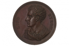 MEDAL 1824 - LORD BYRON (GREAT BRITAIN)