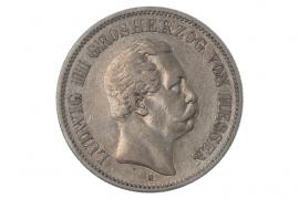 2 MARK 1876 H - LUDWIG III (HESSEN)