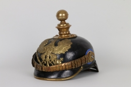 Preußen - Helm für Unteroffiziere Ostfriesisches Feldart.Rgt.Nr.62