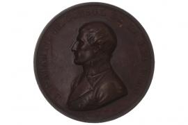 MEDAL 1810 - NAPOLEON BONAPARTE - PEACE OF LUNEVILLE (FRANCE)