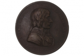 MEDAL 1797 - NAPOLEON BONAPARTE - TREATY OF CAMPO FORMIO (FRANCE)