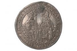 1/2 TALER 1708 - JOHANN ERNST THUN VON HOHENSTEIN (SALZBURG)