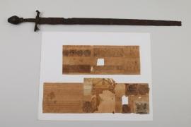 Felddegen um 1600 und heraldische Dokumente