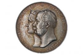 MEDAL 1861 - KRÖNUNG KÖNIG WILHELM I. (PREUSSEN)