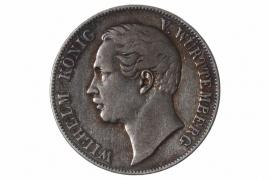 1 TALER 1859 - WILHELM I (WÜRTTEMBERG)