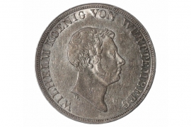 1 KRONENTALER 1833 - WILHELM (WÜRTTEMBERG)
