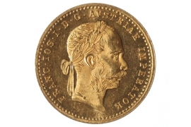 1 DUKAT 1887 - FRANZ JOSEPH I (ÖSTERREICH)