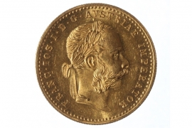 1 DUKAT 1891 - FRANZ JOSEPH I (ÖSTERREICH)