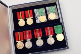 Afghanistan - Case for a Grand Cross & 9 medal