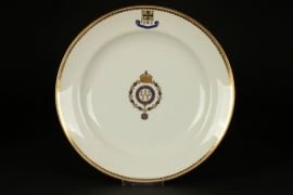 S.M.Y. Hohenzollern plate - KPM