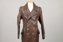 Wehrmacht officer's leather coat