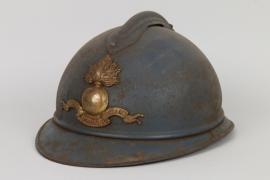 WW1 officer's Adrian helmet - Ecole Spéciale Militaire