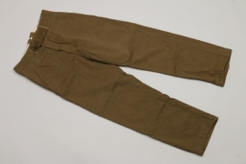 Heer M43 tropical straight trousers
