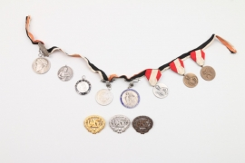 Third Reich sport's medal grouping