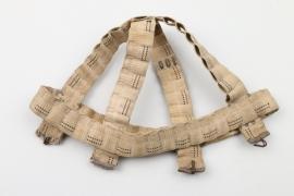 Fallschirmjäger helmet camo net (field made)