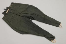 "Waffen-SS NCO's field breeches - ""910"""