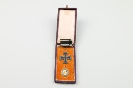 """Württemberg """"Goldene Militärverdienstmedaille 1892"""" (Silber, vergoldet)"""