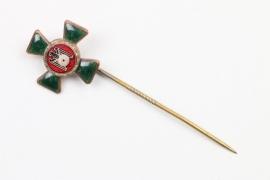 Emaillierter Pin Schützenverein 30er Jahre