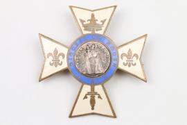 """Emailliertes Kreuz """"Diocese de Rouen"""""""