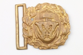 WK1 Kaiserliche Marine Koppelschloss Offizier