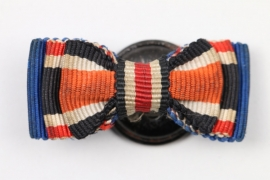 Wehrmacht 3-place Iron Cross ribbon button