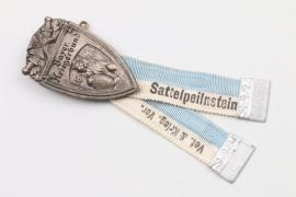 Bayern Abzeichen Kriegerverein SATTELPEILNSTEIN