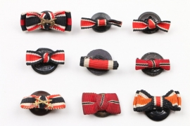 Wehrmacht 9 ribbon buttons