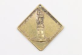 Medaille 25 JÄHRIGE BURSCHENSCHAFTSJUBILÄUM JENA 1898