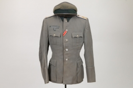 Heer uniform grouping to medical Oberleutnant