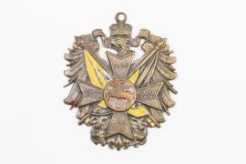 """Hannover Kreuz """"Nec aspera terrent""""  21.9.1907"""