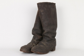 Imperial Germany - WW1 EM's field boots