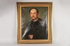 Portrait eines bayerischen Offiziers, Alois Koelbl (1820-71), datiert 1850
