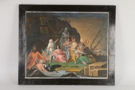 Antikisierende allegorische Szene, deutsch mitte 19. Jh.