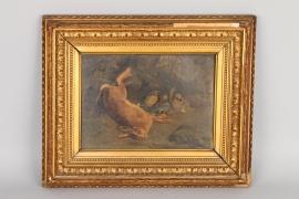 Jagdliches Stillleben um 1900, Eduard de Maes (1852-1940)