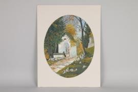 """""""Die Bergkapelle"""", Jacob Hellmann, Partenkirchen um 1920"""