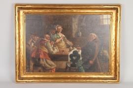 "Luigi Rossi (1853-1923) ""Der trunkene Mönch"""