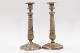 Ein Paar Empire-Leuchter, Frankreich um 1800