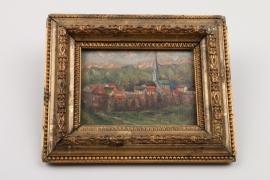 """""""Radstadt in Österreich, kleinformatiges Gemälde, dat. 1930"""